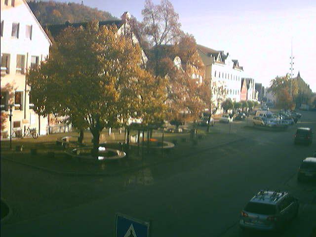 Bogen, Blick auf das Rathaus